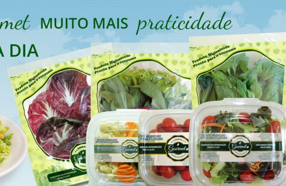 hortaliças higienizadas para restaurantes